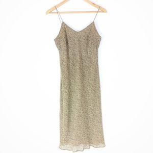 Ann Taylor Women's Silk Spaghetti Strap Dress - 4